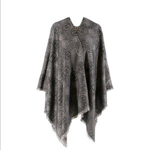 Chanel Cashmere CC Reversible Cape